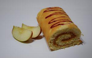 Ruladă fără gluten cu mere