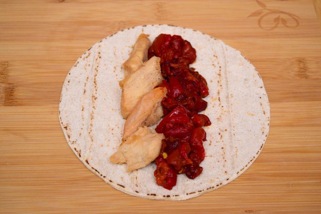 lipie fara gluten cu ardei copti
