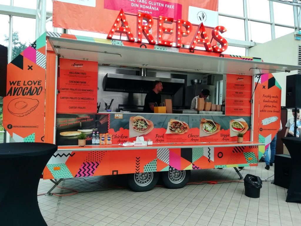 arepas food truck