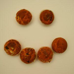 Brioşe fără gluten cu cireşe