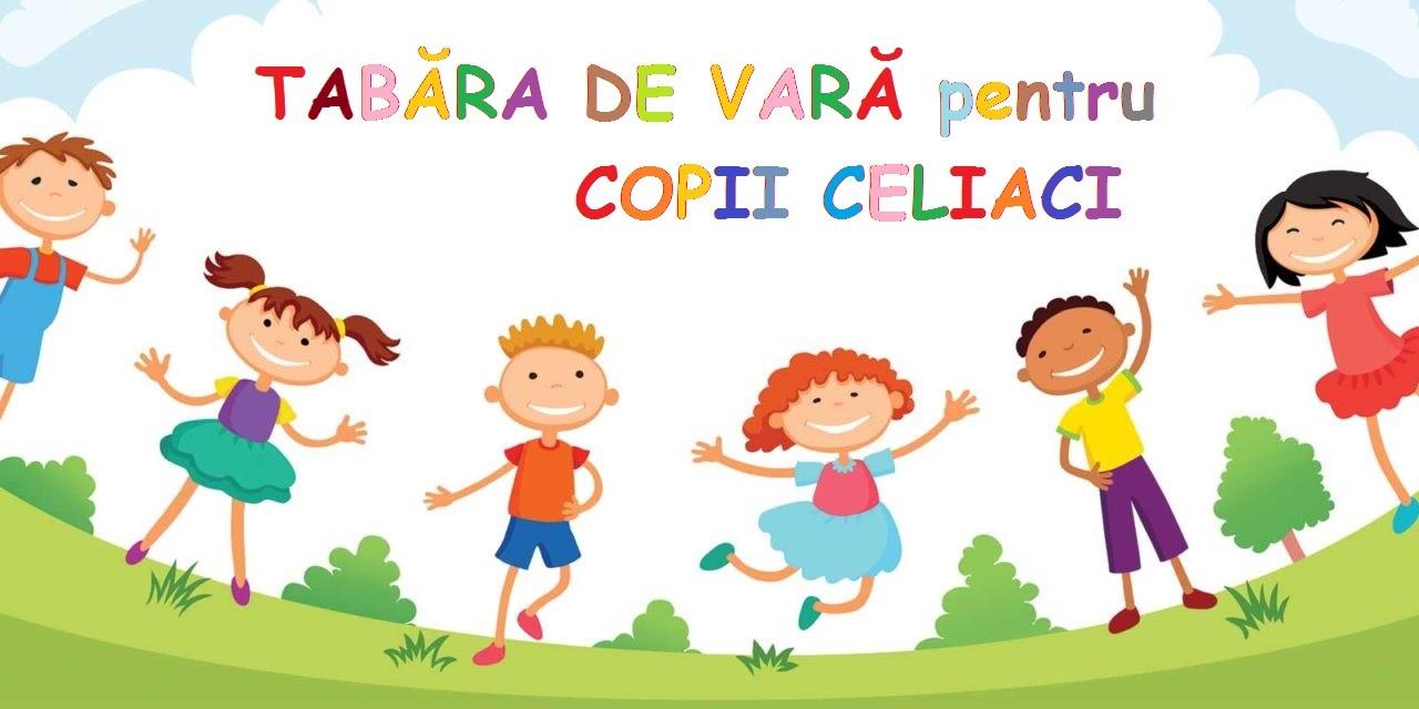 Tabără pentru copii celiaci