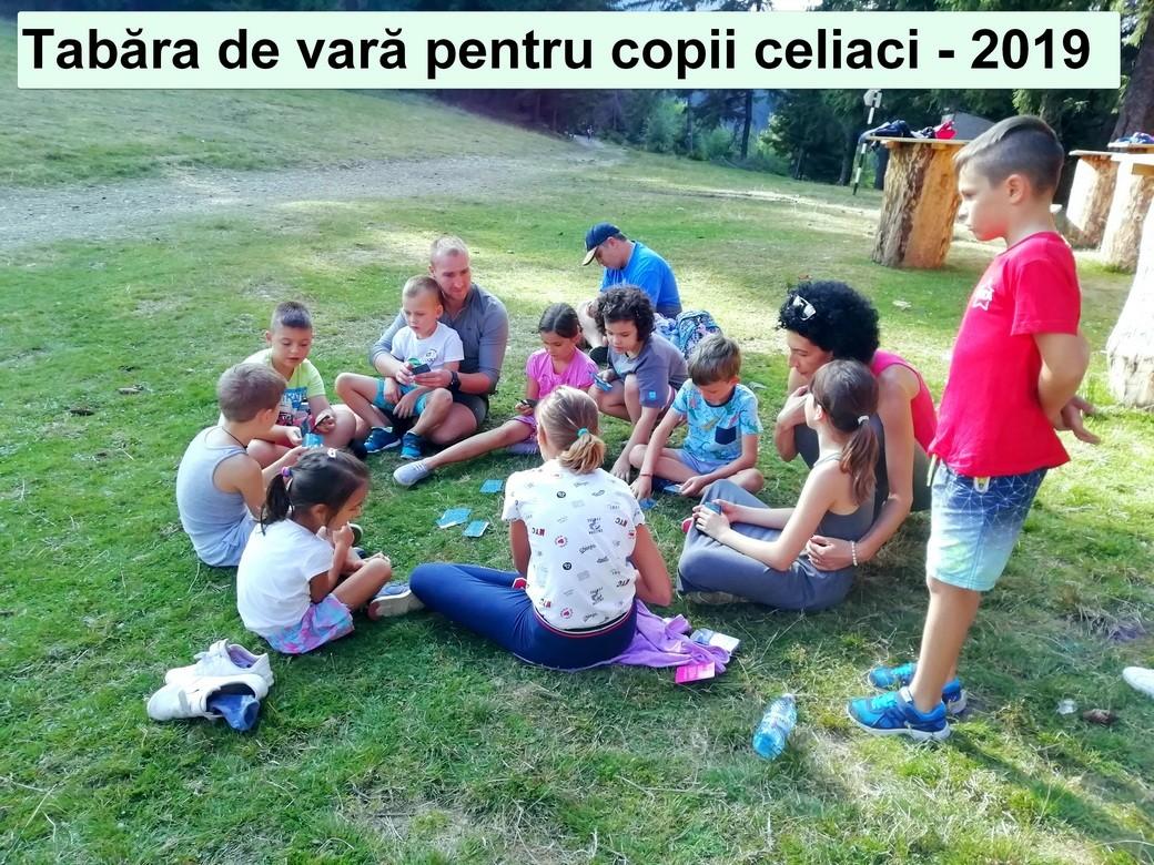 Amintiri din tabara de vara pentru copiii celiaci 2019